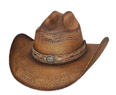 840ccf2932844 Amazon.com  Bullhide Corral Dust Straw Cowboy Hat 2879  Clothing