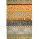 Safavieh Rodeo Drive Collection RD622M Handmade Multicolored Wool Area Rug (6' x 9')