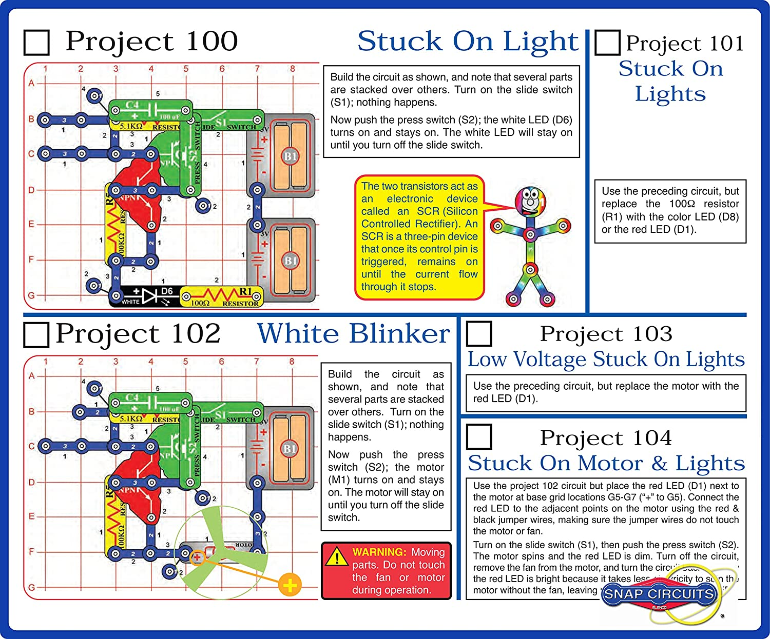 Elenco Electronics Snap Circuits R Deluxe Sound Light Electronic And Educational Toys Combo Games