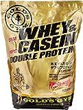 GOLD'S GYM ホエイ&カゼイン ダブルプロテイン バニラ風味 2kg