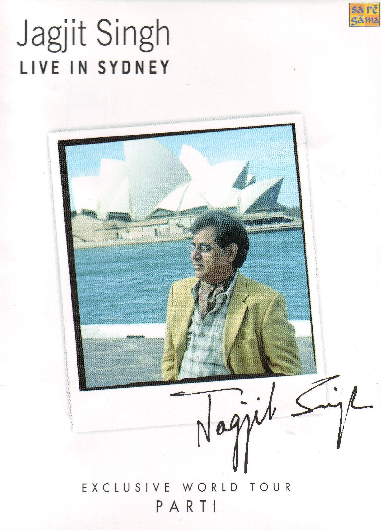 Jagjit Singh Live In Sydney - (CD 1 & 2) by Sony BMG