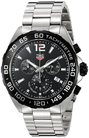 c10b8abac70f Image Unavailable. Image not available for. Color  Tag Heuer Men s  Formula  1  ...