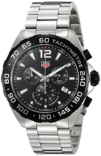 Tag Heuer Uk >> Tag Heuer Men S Formula 1 43mm Steel Case Swiss Quartz Watch Caz1010 Ba0842