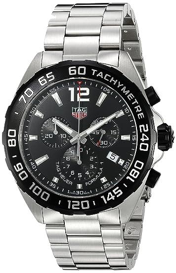 Para estrenar aaf1c 82661 TAG Heuer Formula-1 Reloj de Hombre Cuarzo Suizo 43mm CAZ1010.BA0842