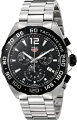 0530f8a661a Tag Heuer Men s  Formula 1  Swiss Quartz Stainless Steel Dress Watch
