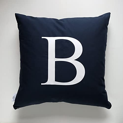 Luxe Personalized Letter Pillow Custom Throw Cover Cases Birth Decorative