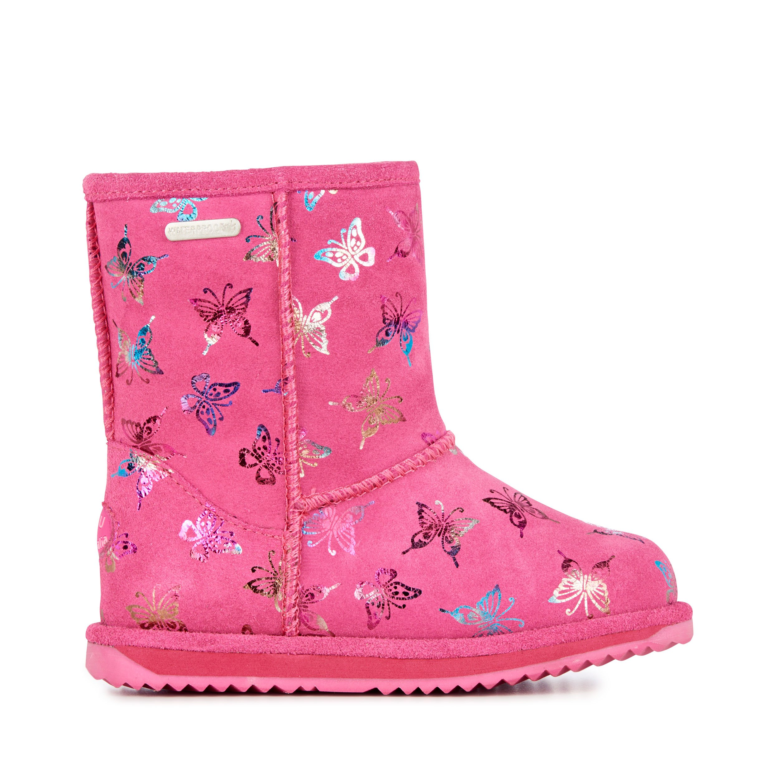 EMU Australia Flutter Brumby Kids Wool Waterproof Boots Size 10 by EMU Australia