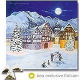 XL Tee Adventskalender 2017 (48x49cm!) 24 Pyramiden-Beutel, hochwertige Kräuter-, Früchtetees (Edition 2017)