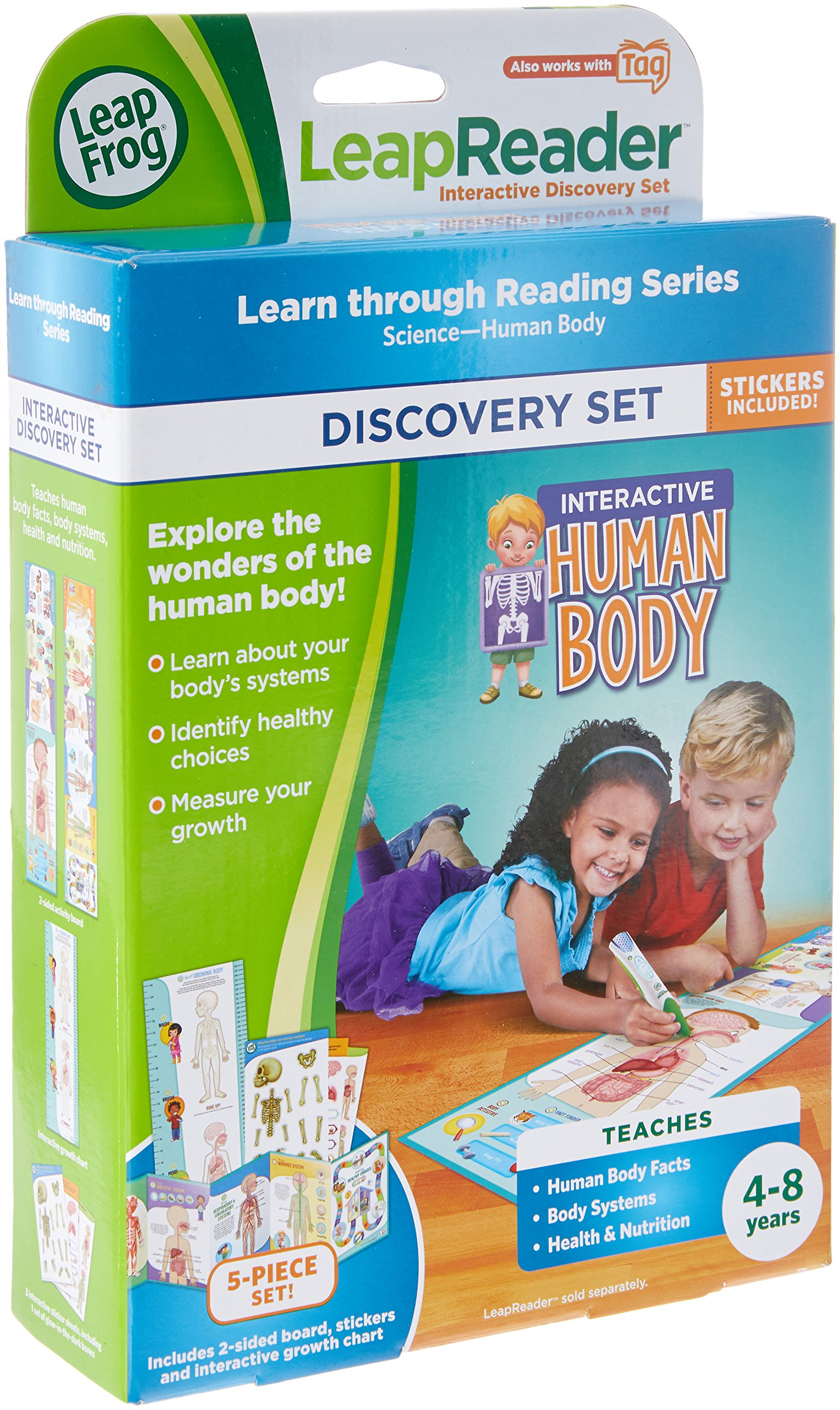 LeapFrog LeapReader Interactive Human Body Discovery Set (works with Tag) by LeapFrog