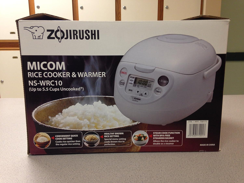 Amazon: Zojirushi Rice Cooker & Warmer (nswpc10 55 Cups): Zojirushi Micom  Rice