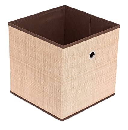 Awesome Internetu0027s Best Canvas Storage Bin | Durable Storage Cube Box Basket  Container | Clothes Nursery Toys