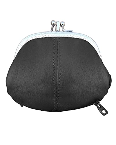 Womens Leather Kiss Lock Coin purse by Improving