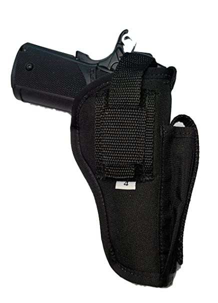 Amazon com : Nylon Belt Holster OTW w Improved Thumb Break Made By
