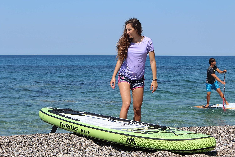 Aqua Marina BT-19THP Aquí Marina Thrive - Advanced All-Around Isup, 3.15M/15Cm, With Paddle And Safet, Green