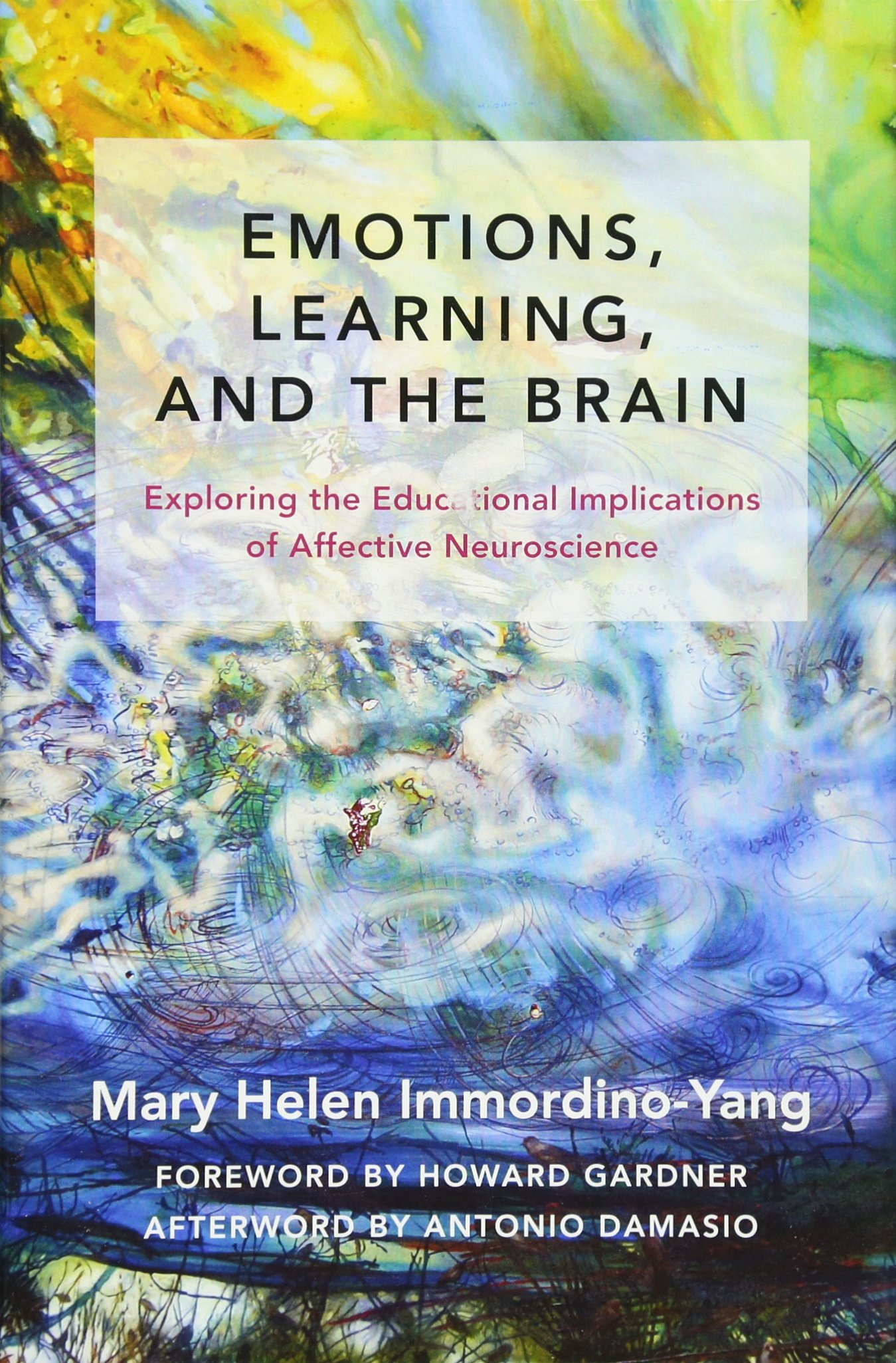 Emotions, Learning, and the Brain: Exploring the Educational Implications  of Affective Neuroscience (The Norton Series on the Social Neuroscience of  Education): Immordino-Yang, Mary Helen, Damasio, Antonio, Gardner, Howard:  9780393709810: Amazon.com: Books