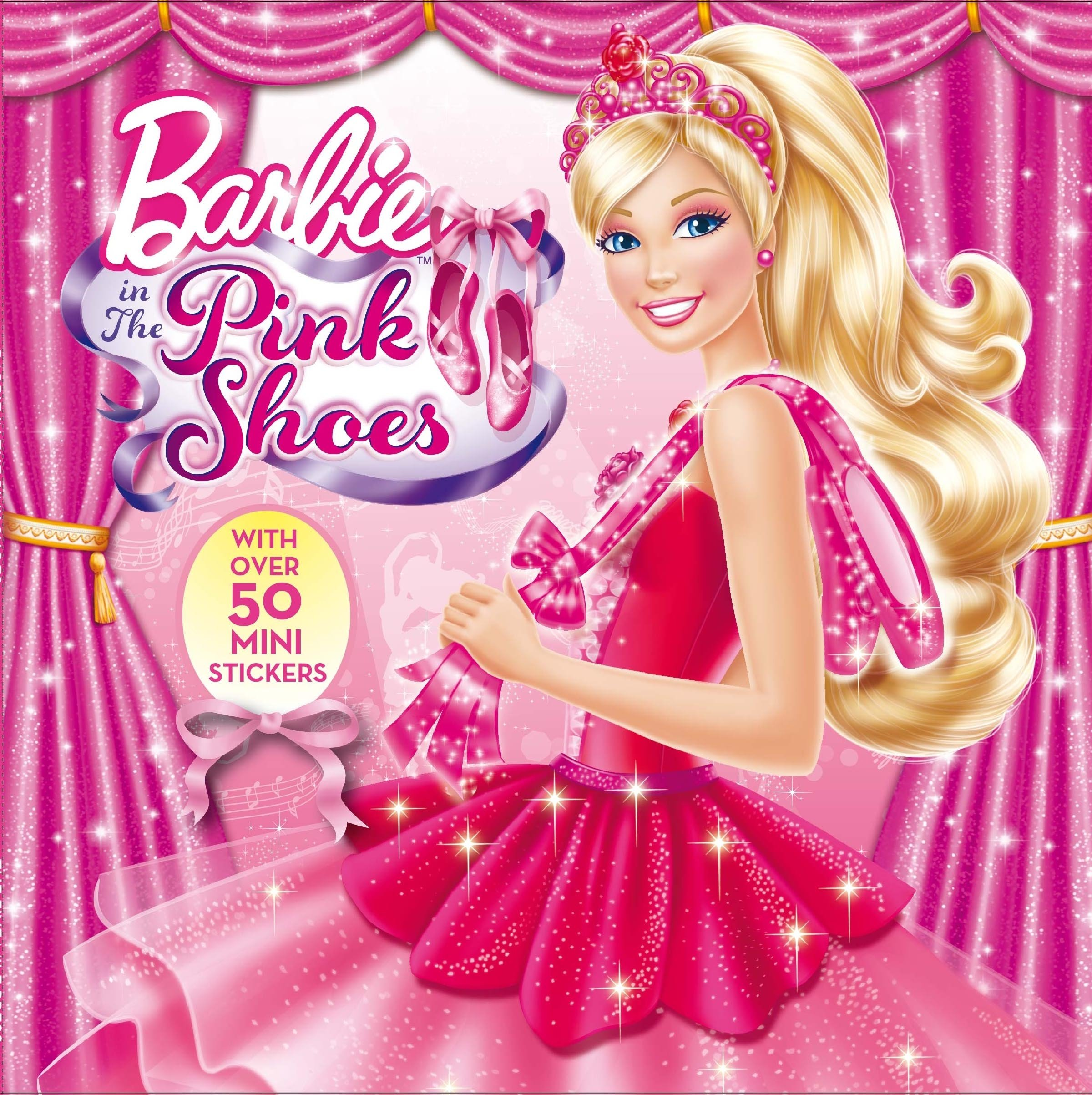 Uncategorized Barbie And The Pink Shoes buy barbie in the pink shoes storybook sticker book online at low prices india storybook