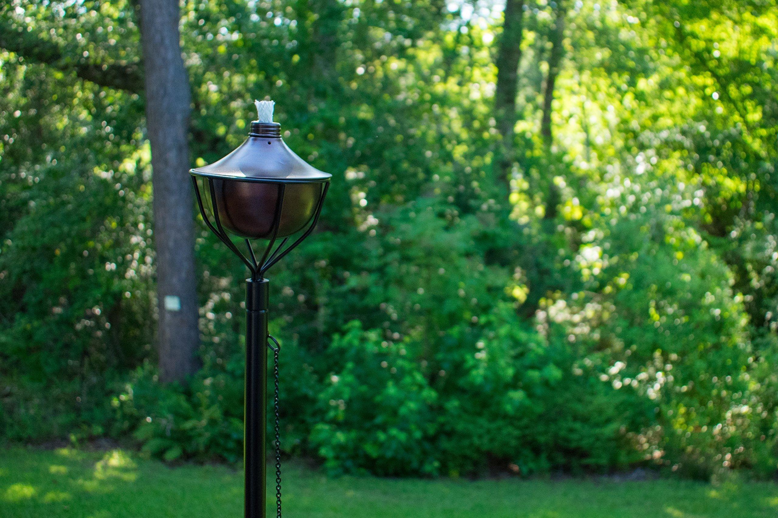 Dusq All-In-One Citronella Garden Torch Oil-Rubbed-Bronze