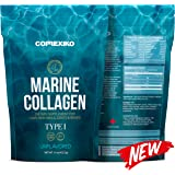 Premium Marine Collagen Peptides - Large Pack (425g) Wild Caught Fish from Canada (Not Farmed), Protein Powder for Skin, Hair, Nails, Joints & Bones & Digestive Health - Hydrolyzed (Unflavoured)