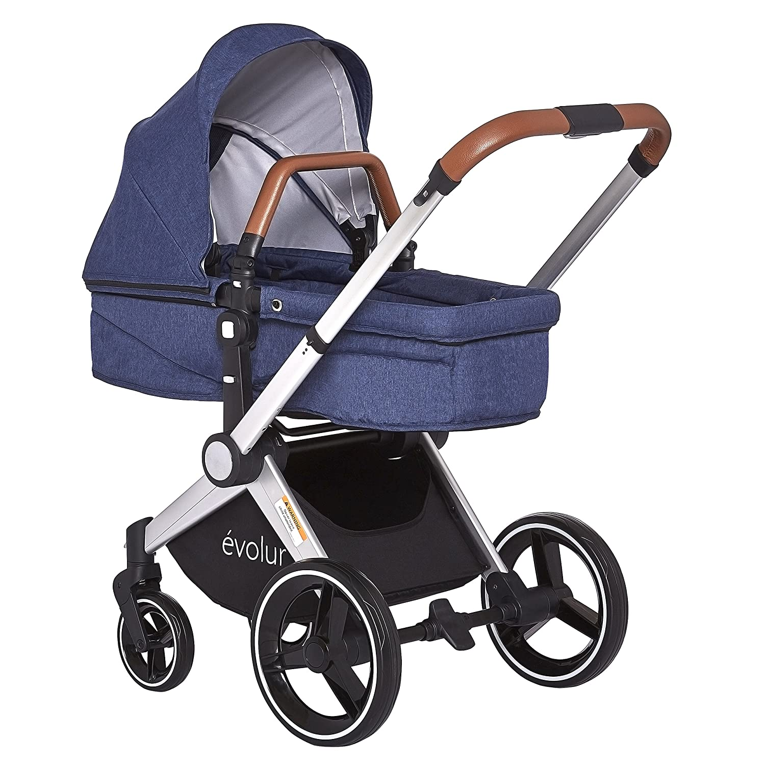 Joovy Scooter X2 Double Stroller, Blueberry