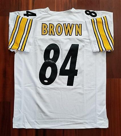 f671e5b02 Antonio Brown Autographed Jersey - JSA Certified - Autographed NFL Jerseys
