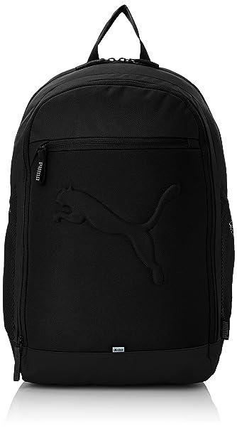 Puma Black Casual Backpack (7358101)  Amazon.in  Bags daa5279467074