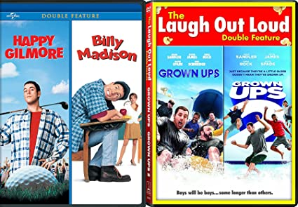Amazon Com Adam Sandler 4 Comedy Movie Features Happy