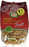 Rizopia Organic Brown Rice Pasta Penne 500 g (Pack of 2)