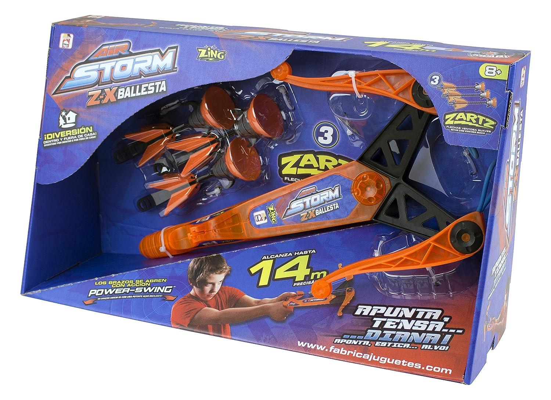 Air Storm–ZX, Launcher mit Form von Armbrust (Spielzeugfabrik 89113)