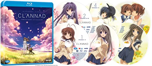 Amazon Clannad After Story Complete Collection Blu Ray Artist Not Provided Movies TV
