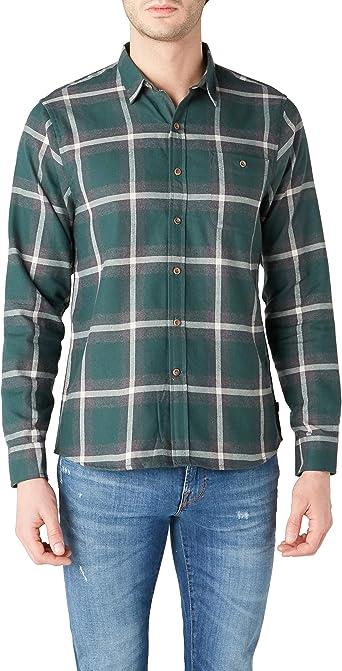 dockers Flannel Shirt Camisa para Hombre: Amazon.es: Ropa y accesorios