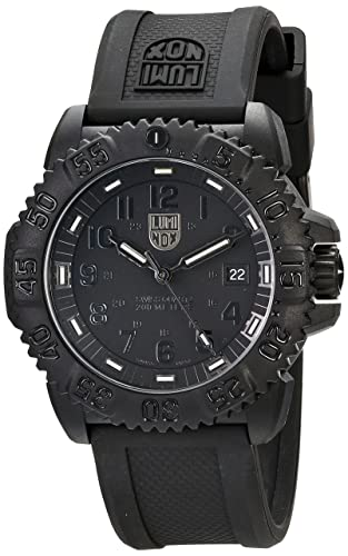 Luminox 3051.BO - Reloj analógico de caballero de cuarzo con correa negra
