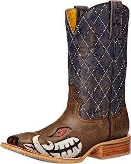 6537f95e51d Amazon.com | Tin Haul Men's Sergeant at Arms Screaming Eagle Cowboy ...