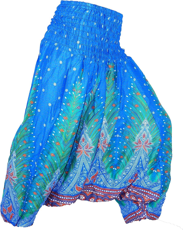 Sarouel Femme bleu marine Pantalon Ethnique Aladin Harem Pant Aladdin dark blue