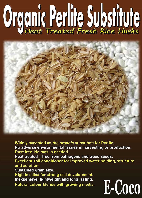 Organic Perlite Alternative 1 Litre Perlite Substitute Heat-Treated Rice Husk