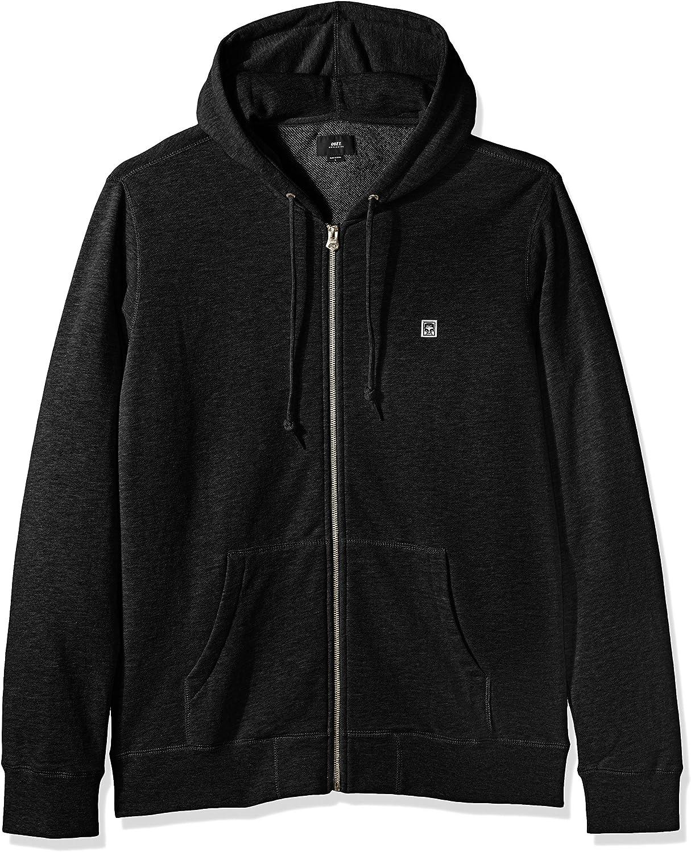 Obey Mens Eighty Nine Icon Zip Fleece Sweatshirt
