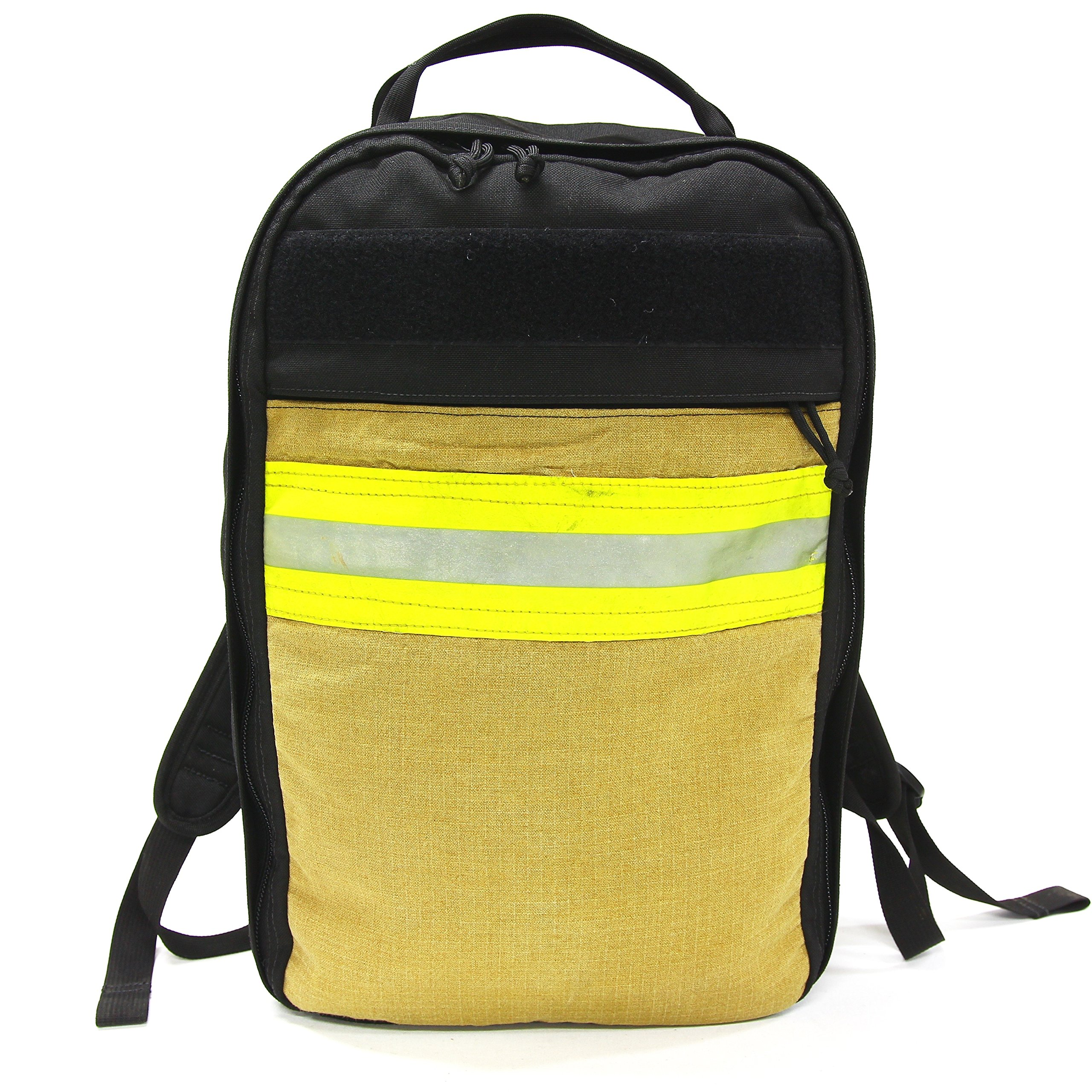 Recycled Firefighter Lay Flat Carry Backpack The Chief Backpack 1000D Cordura by Recycled Firefighter