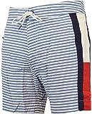 Tommy Hilfiger Men's Nautical Striped Board Short Swim Trunks