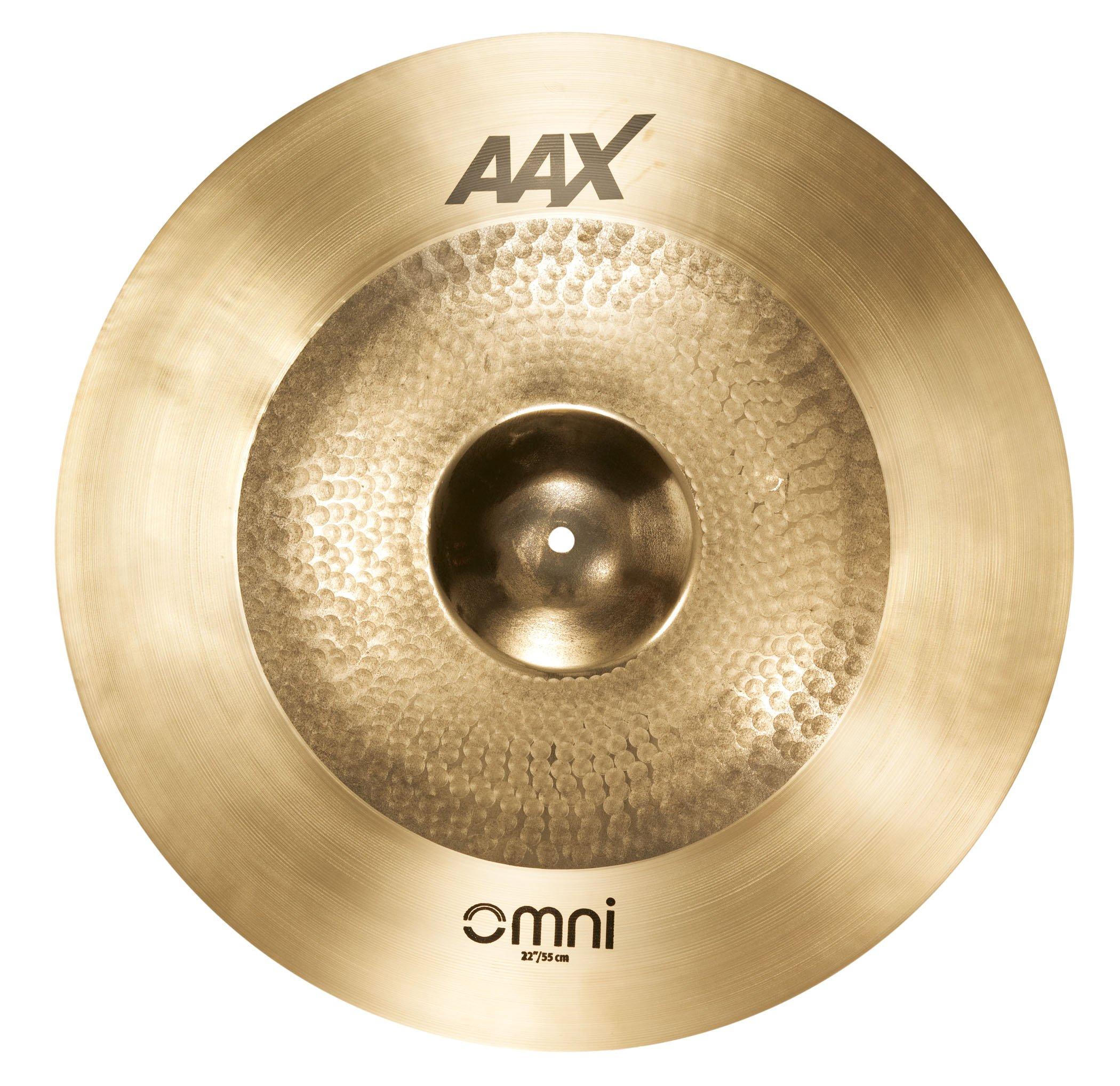 Sabian 222OMX 22'' AAX Omni Crash Ride Cymbal