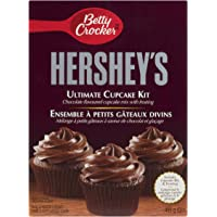 Betty Crocker Hershey's Cupcakes with Dark Chocolate Flavoured Frosting Ult
