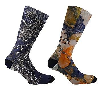 FANTASIA - (2 pares)  Calcetines de hombre cortos con impresión