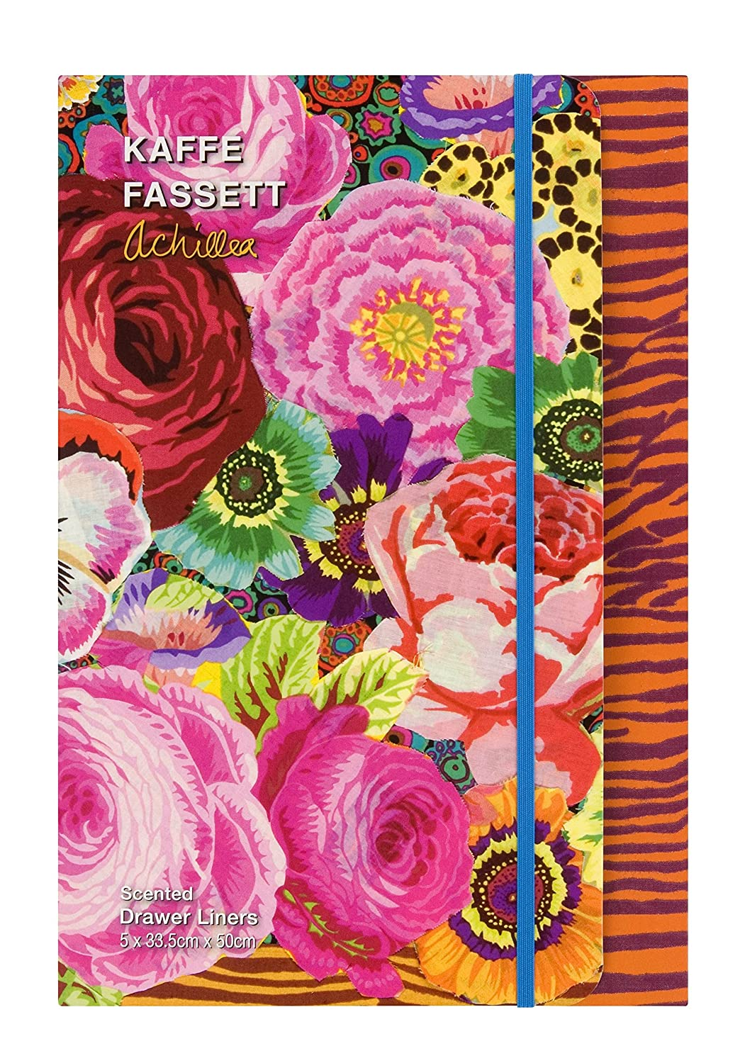 Kaffe Fassett Scented Drawer Liners, Multi-Colour by Kaffe Fassett FG2940