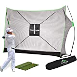 SteadyDoggie Golf Net Bundles - Includes Professional Patent Pending Golf Practice Net, Chipping Target & Carry Bag