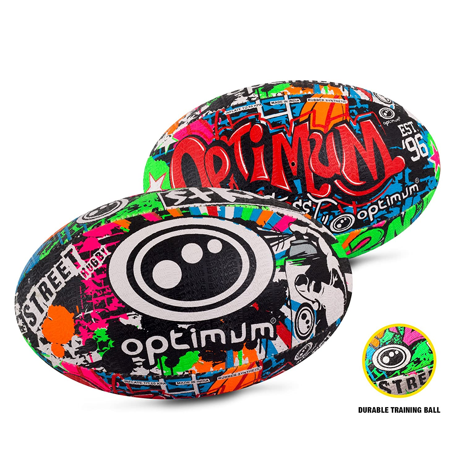Optimum Men's Street Ii Rugby Ball
