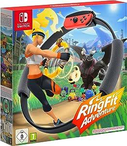 Nintendo 10001992 Ring Fit Adventure / Nintendo Switch, 34 x 33.1 x 6.5 cm, Flerfärgad