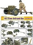 Dragon Models 1/6 M3 37mm Anti-Tank Gun