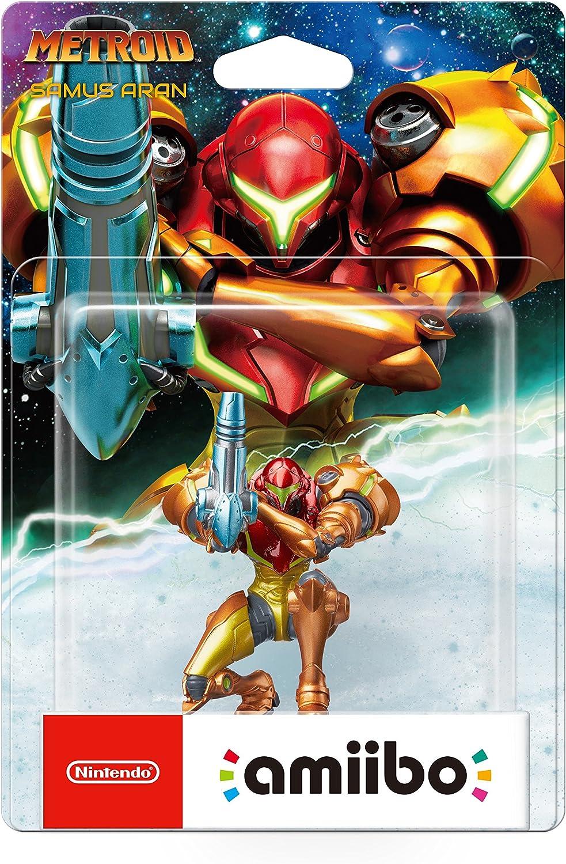 Nintendo - Figura Amiibo Samus Aran, colección Metroid: Amazon.es: Videojuegos