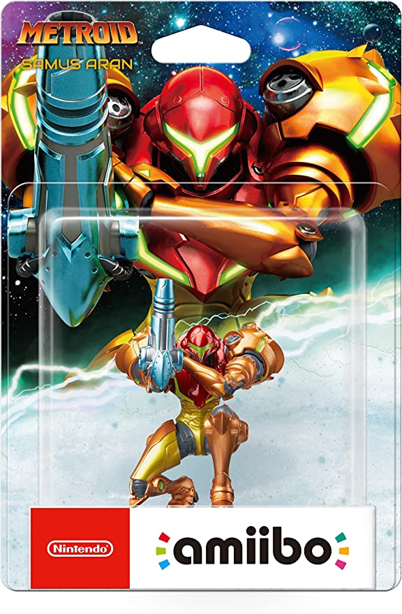 Nintendo - Figura Amiibo Metroid, colección Metroid: Amazon.es ...