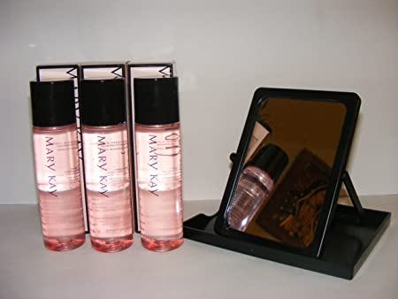 Lot of 3 Mary Kay Oil Free Eye Makeup Remover Free Mary Kay Mirror