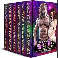 Kyrzon Breeding Auctions: A SciFi Alien Warrior Romance Collection (English Edition)