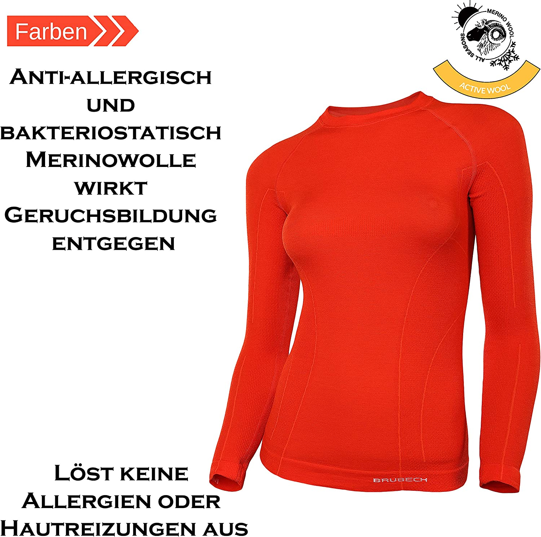 Brubeck Active Wool Merino Womens Top